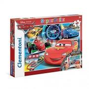 Clementoni - cars puzzle con app - 60 pz