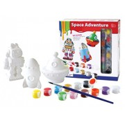 A. B. Gee dipingere il proprio Space Adventures