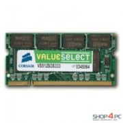 Memorie Corsair SO-DIMM ValueSelect 1GB DDR2, 667MHz, PC2 - 5300, CL5, VS1GSDS667D2