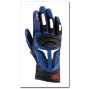 Guanto Moto A-Pro Fire Power Black Blue