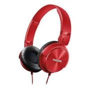 Philips SHL3060RD/00 Auriculares de diadema cerrados tipo DJ (1000 mW, 1.2m), color rojo
