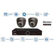 Kamerové systémy AHD - 2x kamera 1080P s 40m IR a DVR