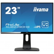 iiyama ProLite XUB2390HS-B1 23' ULTRA slim LINE LED LCD 1920x1080 IPS 250 cd/m² 5M:1 ACR speakers VGA DVI & HDMI 5ms TCO6