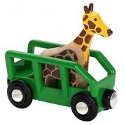 Brio - Vagón y animal safari (RLS, Cat 2) (33724)