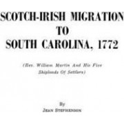 Scotch-Irish Migration to South Carolina, 1772 by John Stephenson