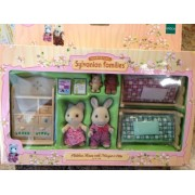 Calico Critters Sylvanian Families Childrens Room Margot Otto Retired 2005 #2501 by Sylvanian