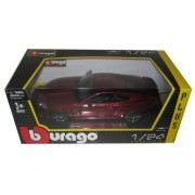 Jaguar XKR-S Burgundy 1/24 by BBurago 21063