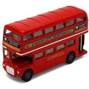 London Double Decker Bus Red - Motormax 76002 - 4.75 Diecast Model Toy Car