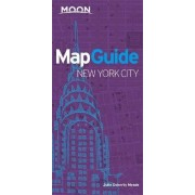 Moon Mapguide New York City by Julie Doherty Meade