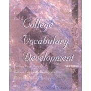 College Vocabulary Development by Jack Shreve