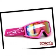 Gogle Woosh W69 Matt Pink/Revo + Etui
