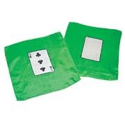 "3 of Clubs 9"" Card Silk Set."