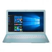 """Notebook Asus X540SA, 15.6"""" HD, Intel Celeron N3060, RAM 4GB, HDD 500GB, FreeDOS, Albastru"""