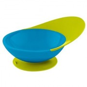 Boon Catch Bowl with Spill Catcher Blue/Green