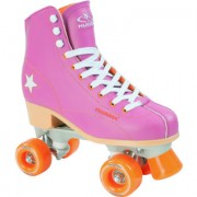 HUDORA Rolschaatsen Roller Disco lila/oranje maat 35 13171