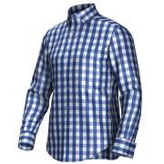 Maatoverhemd blauw/wit 55297