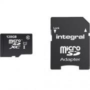 Card Memorie Micro SDXC CL10 80MB/s Pentru Tablete 128GB Integral