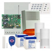 SISTEM DE ALARMA WIRELESS PARADOX KIT MG5000 EXT - F6