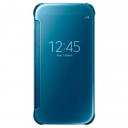 Capa com Cobertura Clear View EF-ZG920BB para Samsung Galaxy S6 - Azul