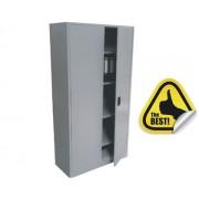 DULAP METALIC CU 4 RAFTURI 800x350x1800 mm (LxlxH), 45 kg/polita, OFFICE