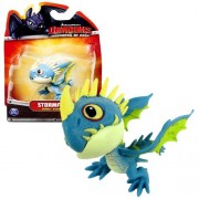 """Spin Master Year 2013 Dreamworks Movie Series """"DRAGONS - Defenders of Berk"""" 3 Inch Long Dragon Figure - Deadly Nadder STORMFLY"""