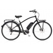 Electra Townie Commute GO! 8i EQ Men's - Black Satin - E-Bikes