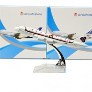 Thailand Dragon Boat Boeing 747 16cm Metal Airplane Models Child Birthday Gift Plane Models Home Decoration