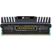 Памет Corsair DDR3, 1600MHz 4GB 1x240 Dimm, Unbuffered, 9-9-9-24, Vengeance Heatspreader, Core i7, Core i5 and Core 2/AMD Phenom II - Dual Channel, 1.5V