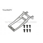 Generic 450 Sport-V2 Helicopter Part Tarot Metal tail servo mount White TL2757