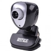 Camera web Intex KOM0091 USB Negru