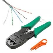Cablu retelistica LanKATT Pachet Cablu UTP Cupru + cleste de sertizat