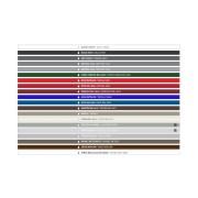 Joma brievenbussysteem Klass 370 Mat zwart/Groen