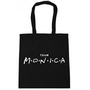 HippoWarehouse - Bolsa de playa de algodón Mujer, negro (negro) - 16168-TOTE-Black