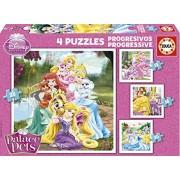 Educa 16172 - Puzzle Progressive Palace Pets (12-16-20-25)