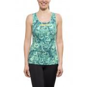 GORE RUNNING WEAR AIR PRINT Koszulka do biegania Kobiety turkusowy Koszulki do biegania bez rękawów
