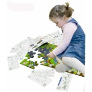 Puzzle de podea educativ cu numere 40 piese - Miniland