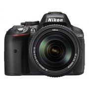 Nikon D5300 24.1MP Digital SLR Camera (Black) with 18-140mm VR Kit Lens, Card and Camera Bag