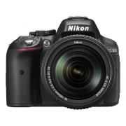 Nikon D5300 24.1MP Digital SLR Camera (Black) with 18-140mm VR Kit Lens, Card and Camera Bag