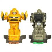 Transformers Dark Of The Moon - Bash Bots - Bumblebee Vs Megatron