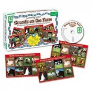 Key Education Listening Lotto Games Sounds On The Farm