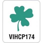 Artemio VIHCP174 Petite Perforatrice à Levier Trèfle Plastique Multicolore 8,5 x 5 x 12 cm
