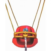 suraj baby red color heavy plastic swing(jhula) for your kids se-sj-06