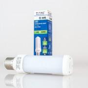 Lâmpada LED PL E27 6w»50W Luz Fria 480Lm