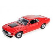Motor Max 1970 Ford Mustang Boss 429 Red