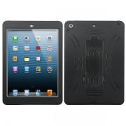 Funda Protector Mixto Apple Ipad Air Negro c/Pie