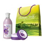 Set cadou - Gel de dus si unt de corp cu violete