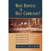 What Happens in Holy Communion? by Michael Welker