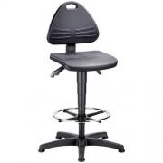 Werkplaatsstoel Bimos Isitec - Hoog - Op glijdoppen
