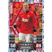 Match Attax Extra 2013/2014 Wanye Rooney Game Changer 13/14