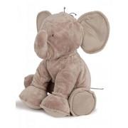 Tartine et Chocolat - peluche elefante 35 cm beige Topo bebé niño tostadas y Chocolate beige